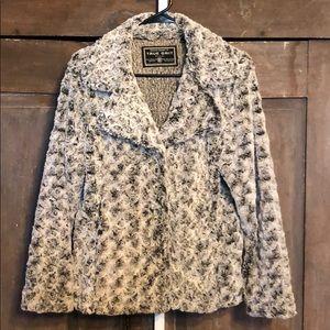 Jackets & Blazers - True Grit three button jacket fuzzy